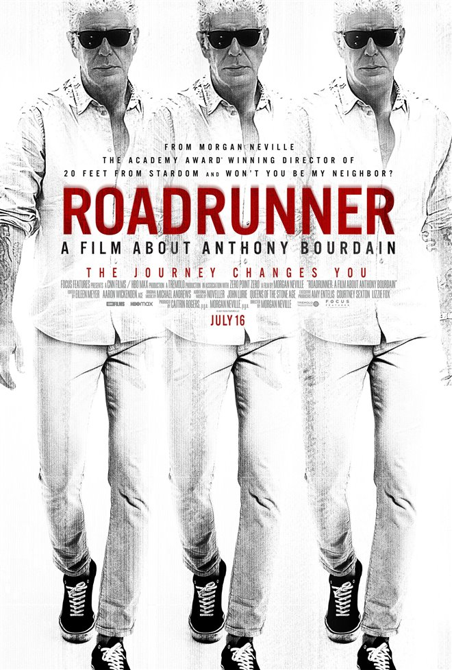 Roadrunner: A Film About Anthony Bourdain Large Poster