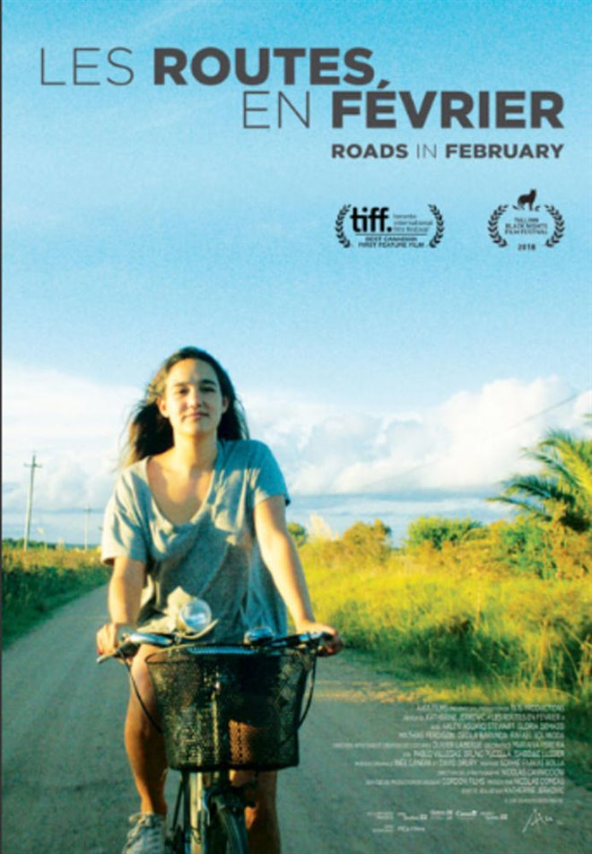 Roads in February Large Poster