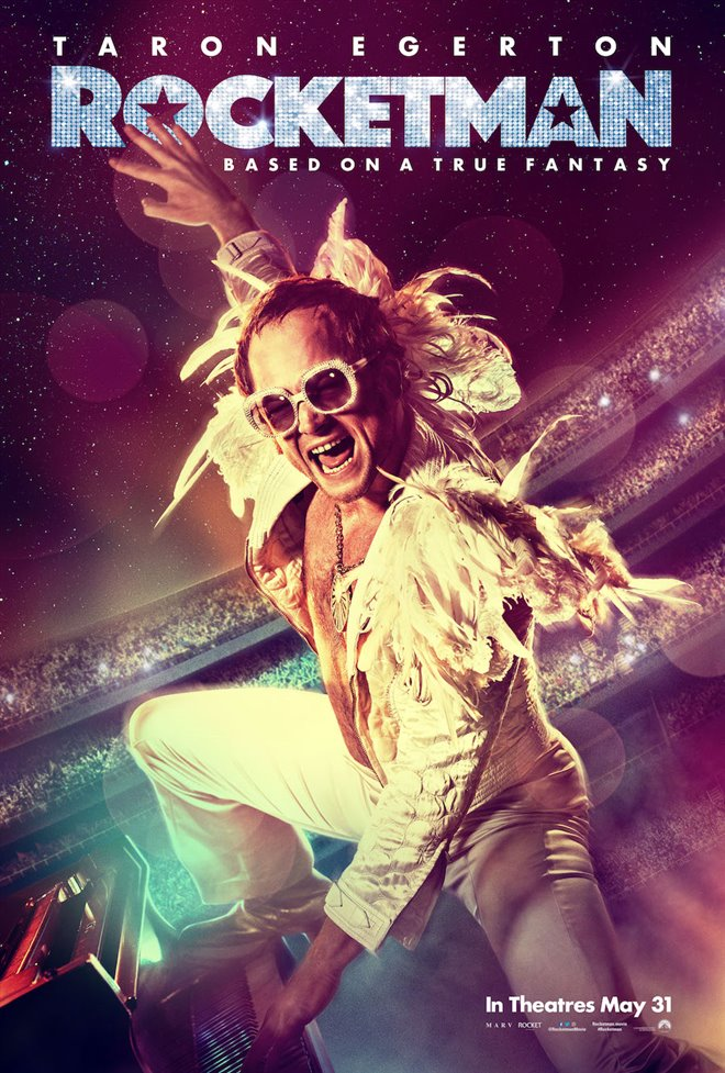 Rocketman Large Poster