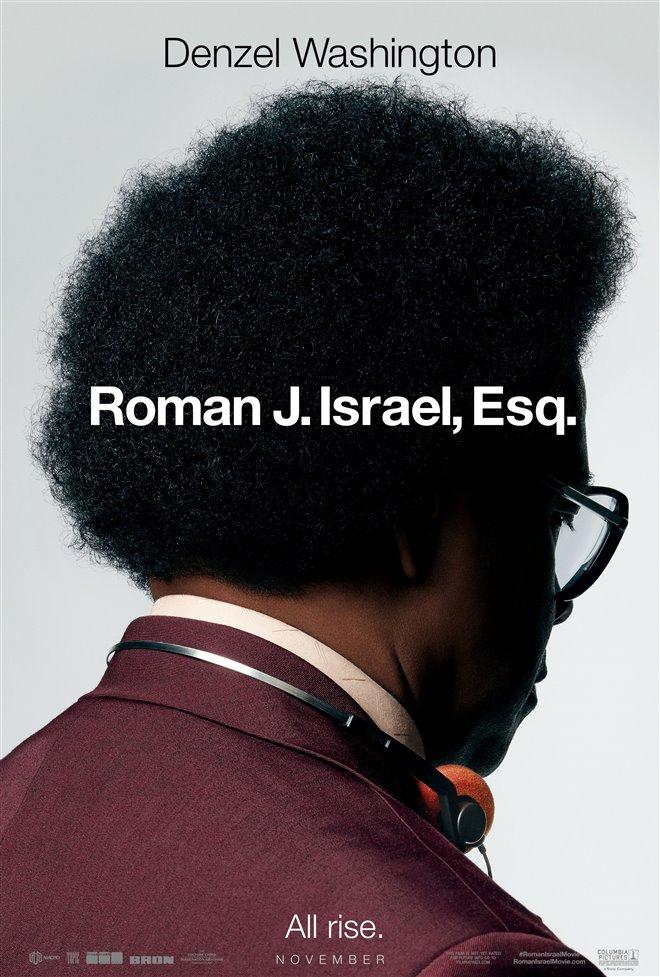 Roman J. Israel, Esq. Large Poster