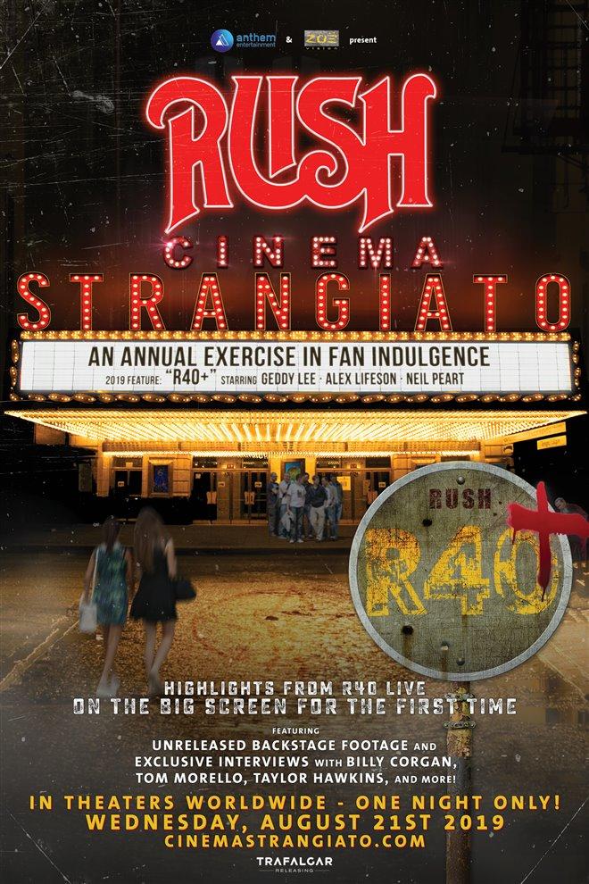 Rush: Cinema Strangiato 2019 Large Poster