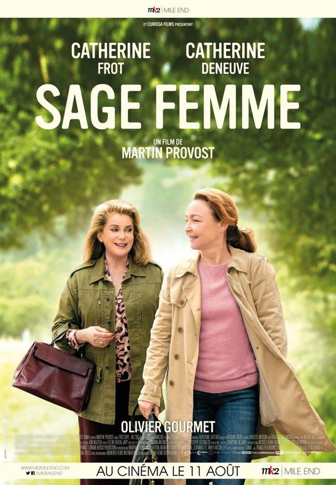 Sage femme Large Poster
