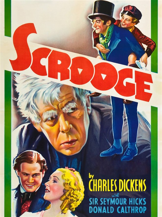 Scrooge (1935) Large Poster