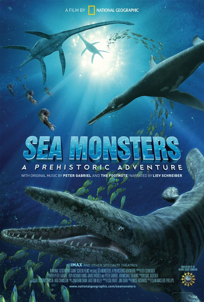 Sea Monsters: A Prehistoric Adventure Large Poster