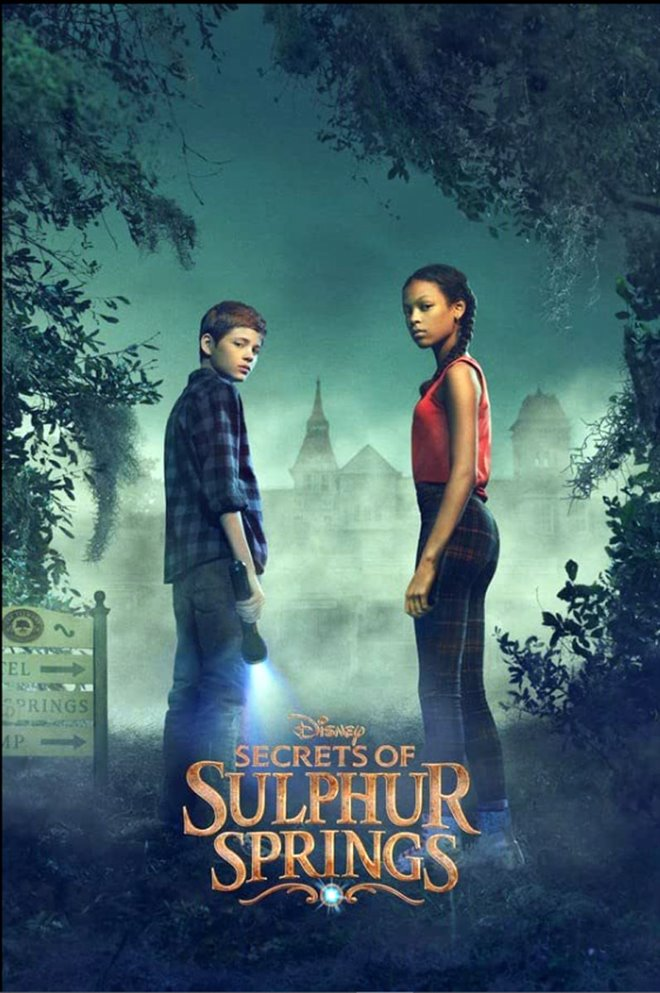Secrets of Sulphur Springs (Disney+) Large Poster