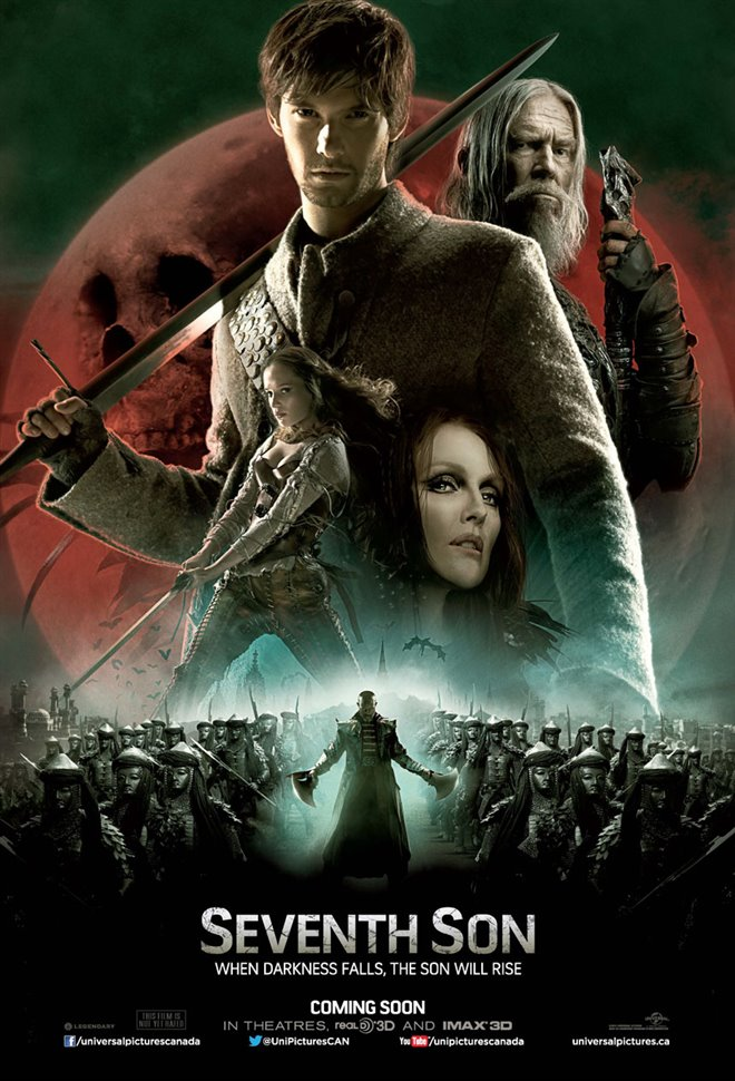 Seventh Son Large Poster