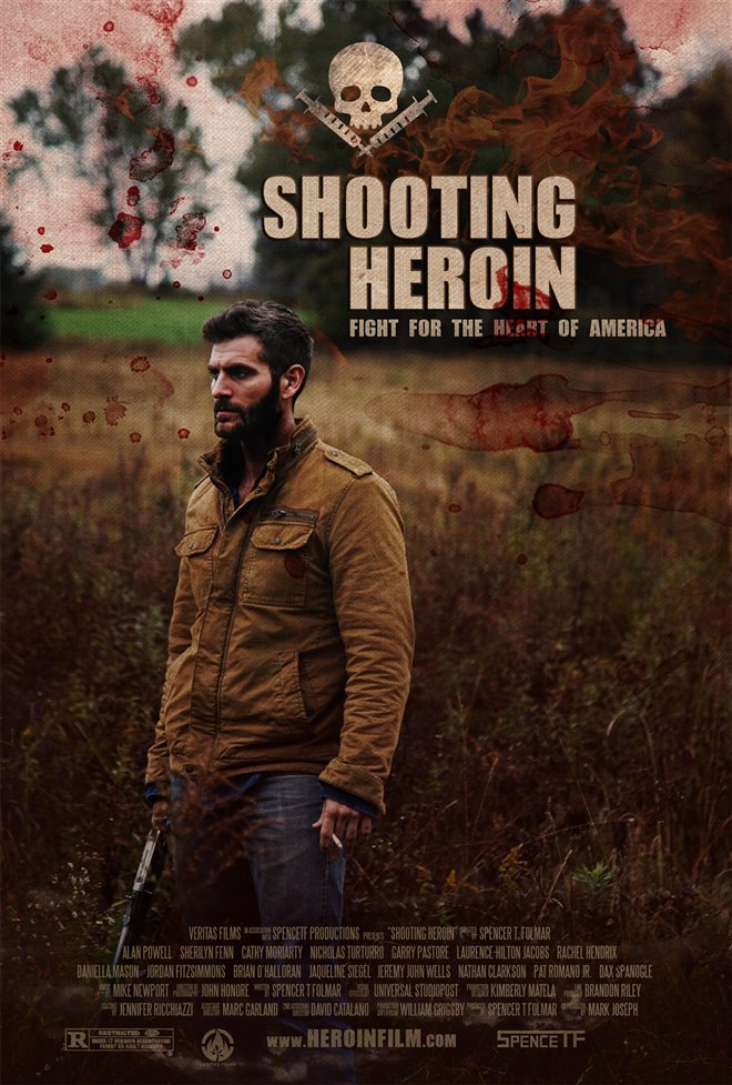 Shooting Heroin Large Poster