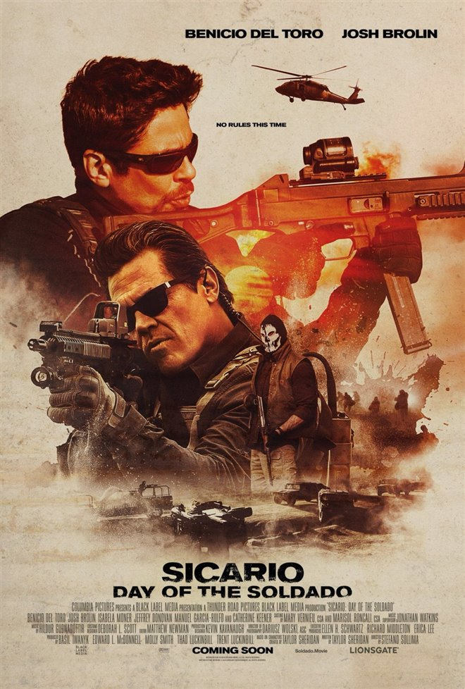 Sicario: Day of the Soldado Large Poster
