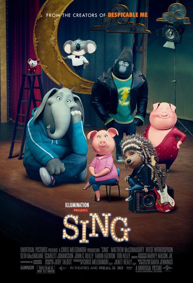 Sing Large Poster