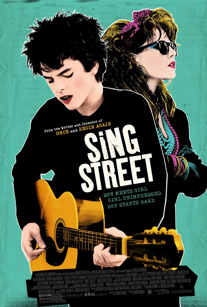 Sing Street : La rue ds chansons Large Poster