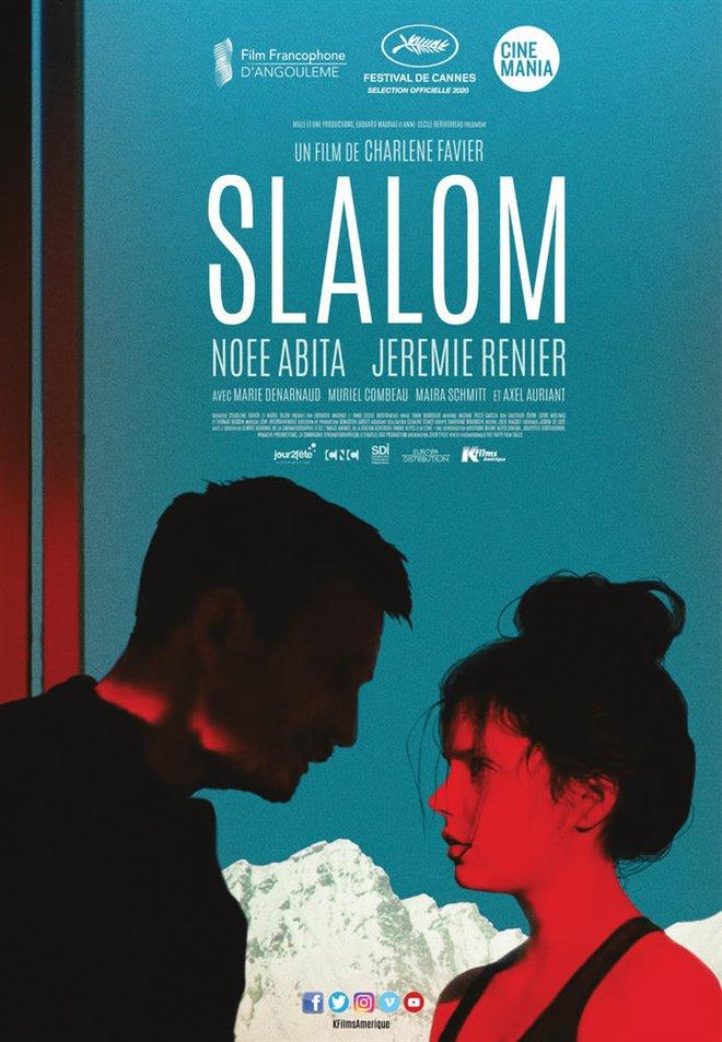 Slalom (v.o.f.) Large Poster