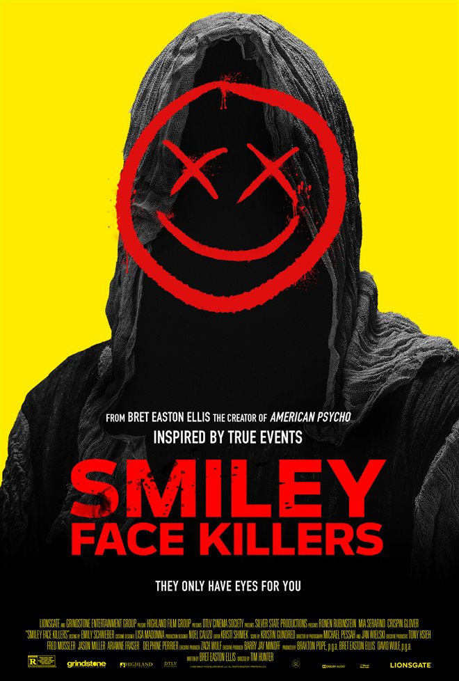 Smiley Face Killers Large Poster