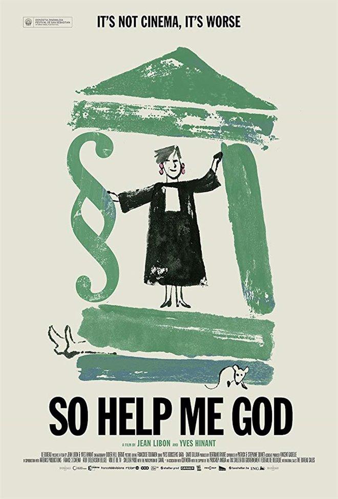 So Help Me God Large Poster