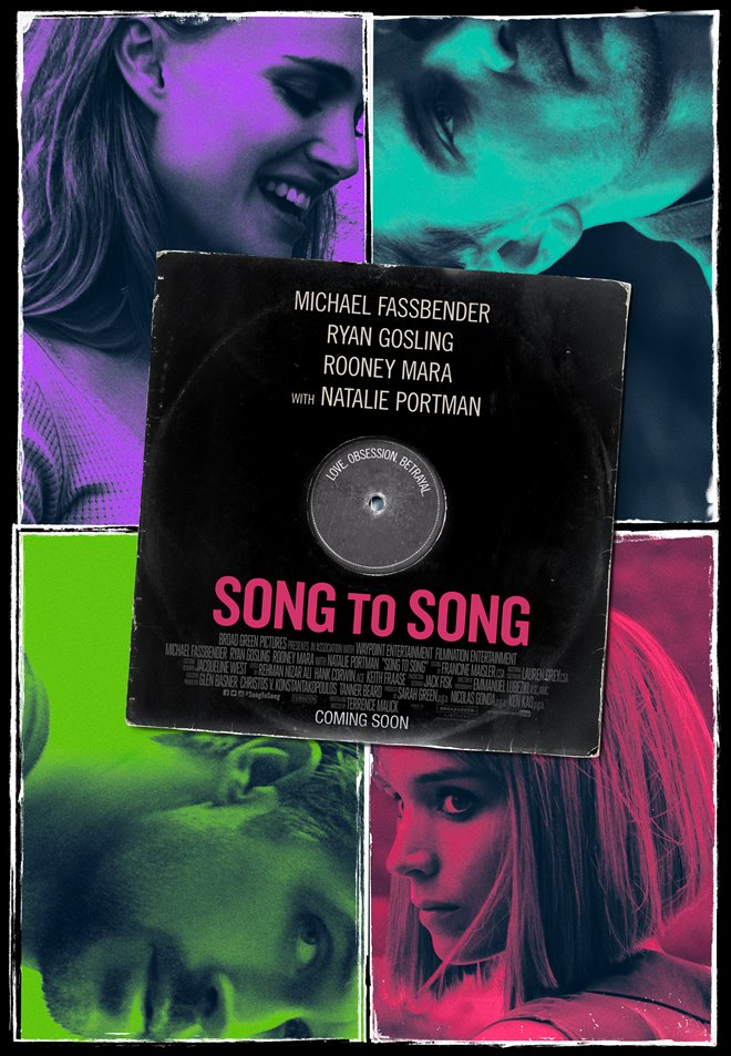 Song to Song Large Poster