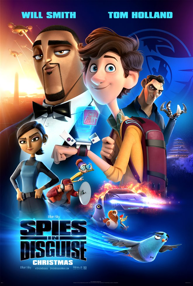 Spies in Disguise Large Poster