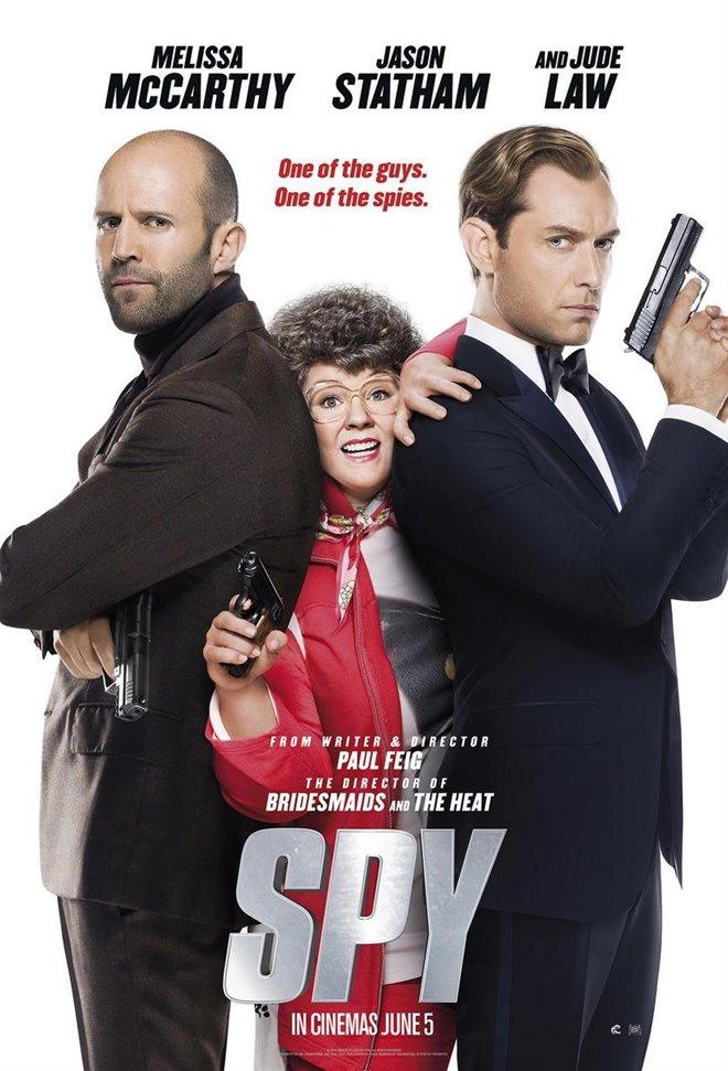 Spy Large Poster