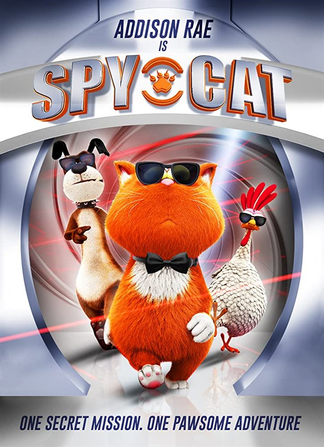 Spy Cat Large Poster