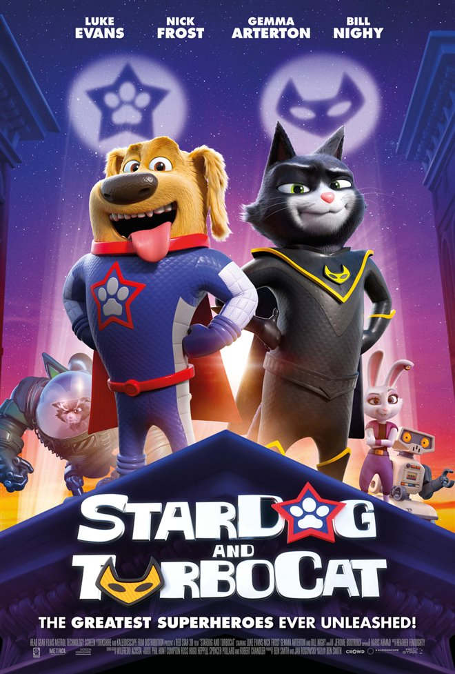 StarDog and TurboCat Large Poster