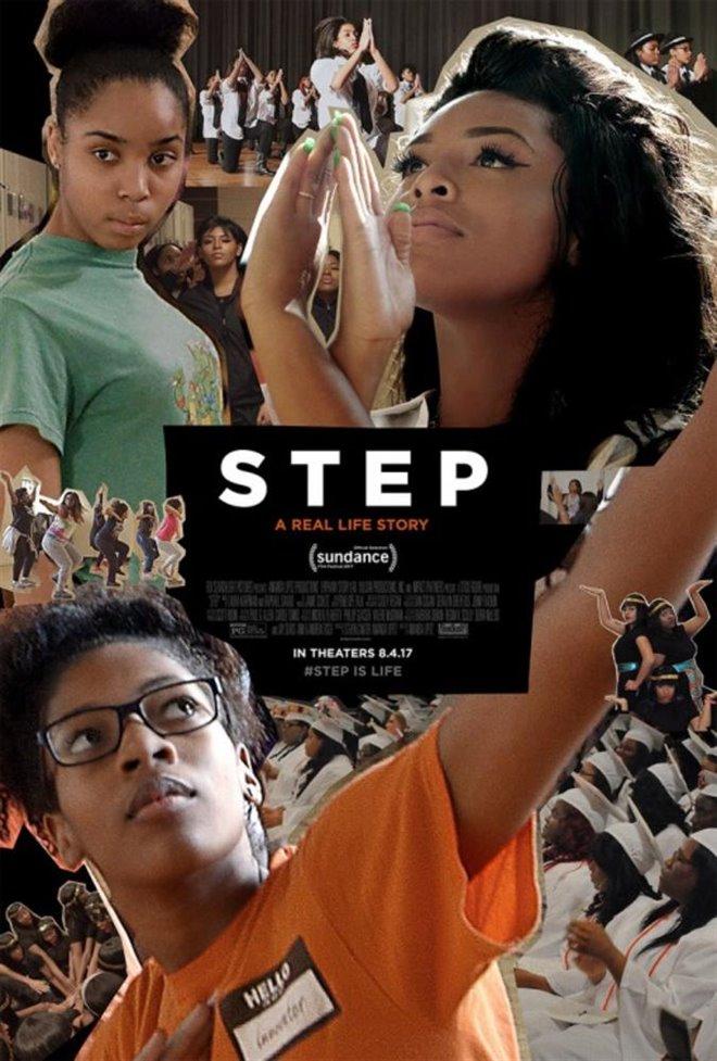 Step (v.o.a.) Large Poster