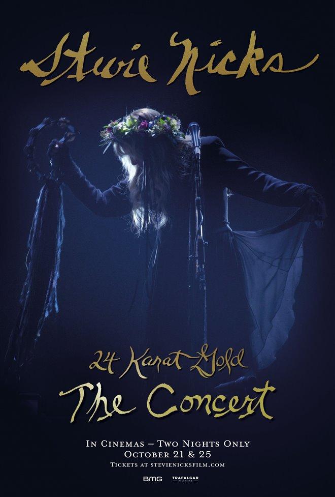 Stevie Nicks 24 Karat Gold The Concert Large Poster