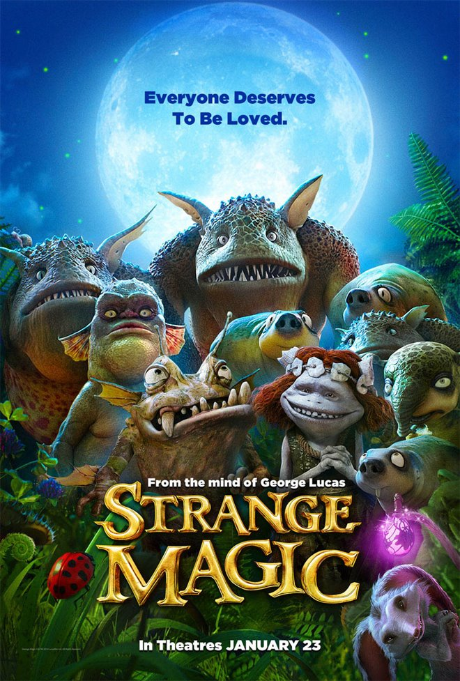 Strange Magic Large Poster