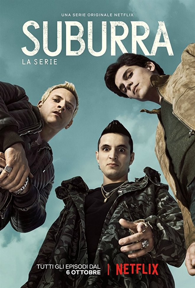 Suburra (Netflix) Large Poster
