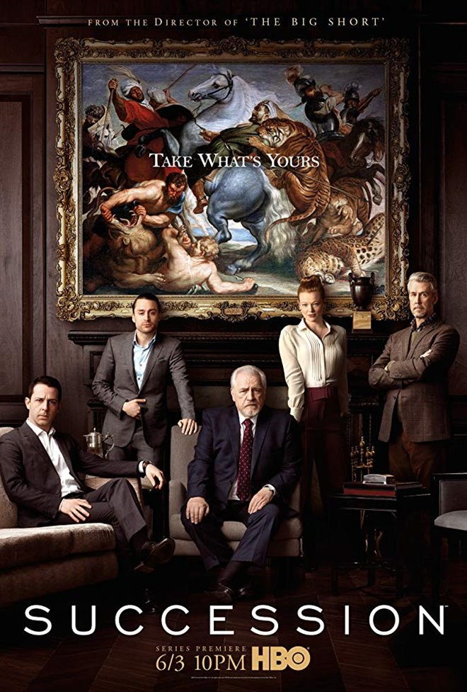Succession (HBO) Large Poster