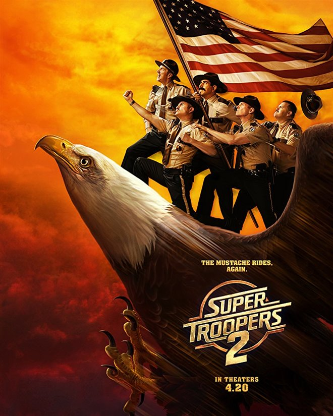 Super Troopers 2 (v.o.a.) Large Poster