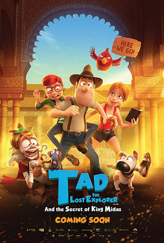 Tad the Lost Explorer and the Secret of King Midas Large Poster