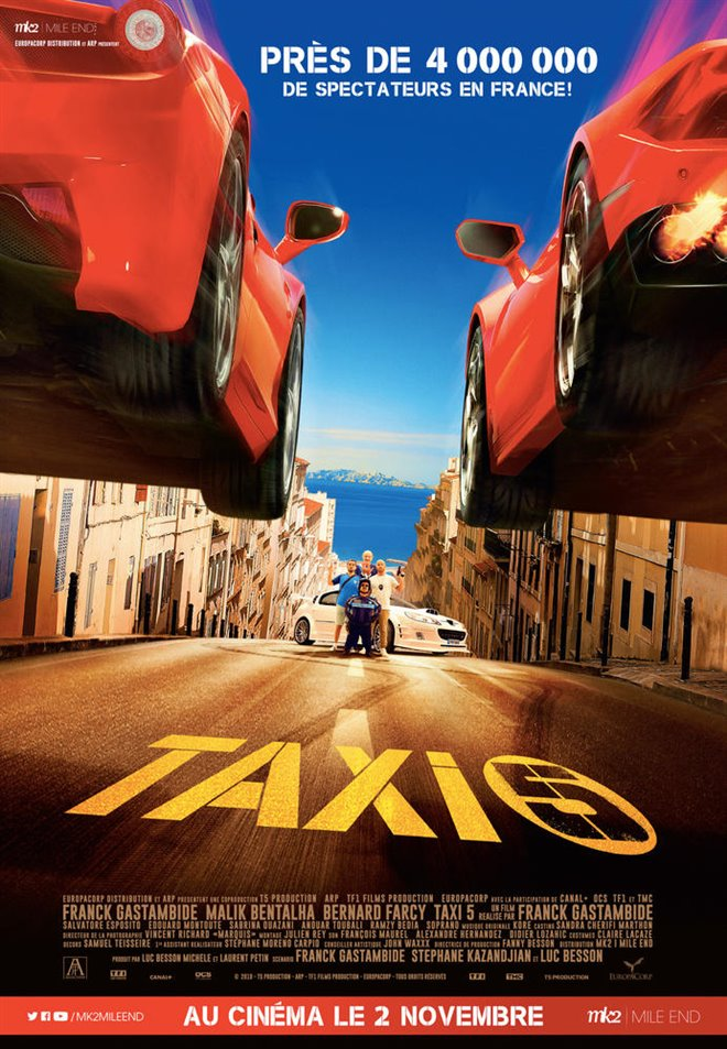 Taxi 5 (v.o.f.) Large Poster