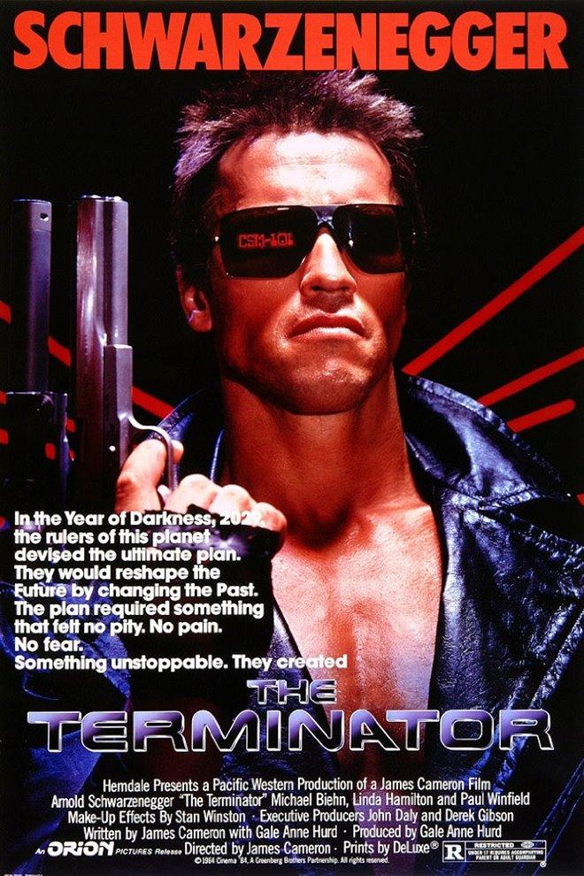 Terminator Large Poster