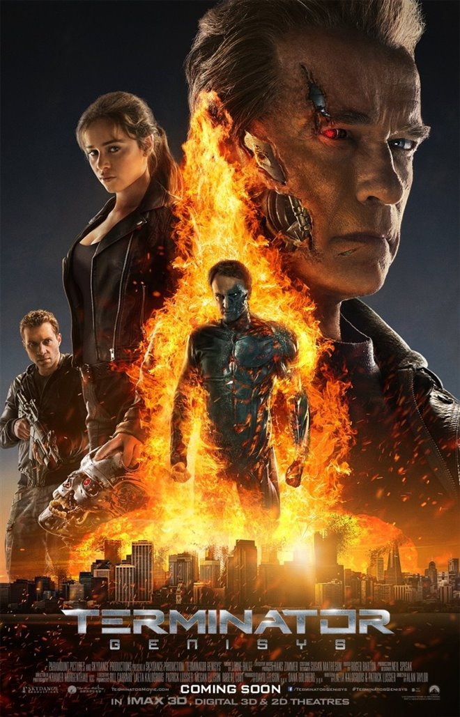 Terminator Genisys Large Poster