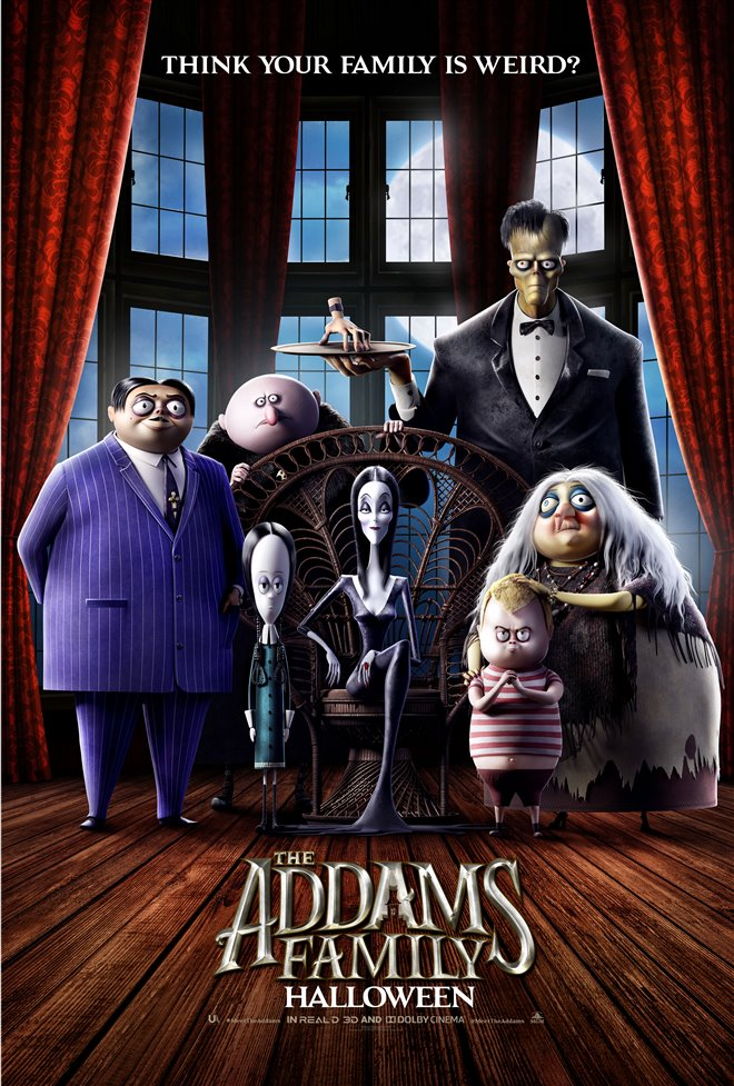 The Addams Family Large Poster