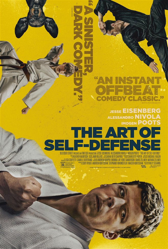 The Art of Self-Defense Large Poster