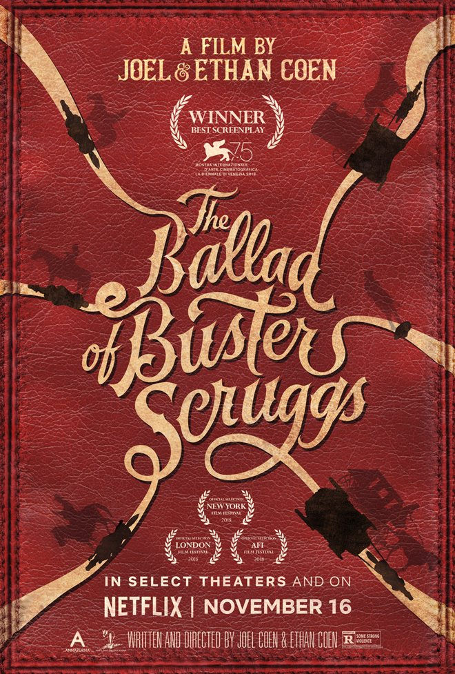The Ballad of Buster Scruggs Large Poster