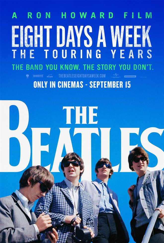The Beatles: Eight Days a Week - The Touring Years (v.o.a.) Large Poster