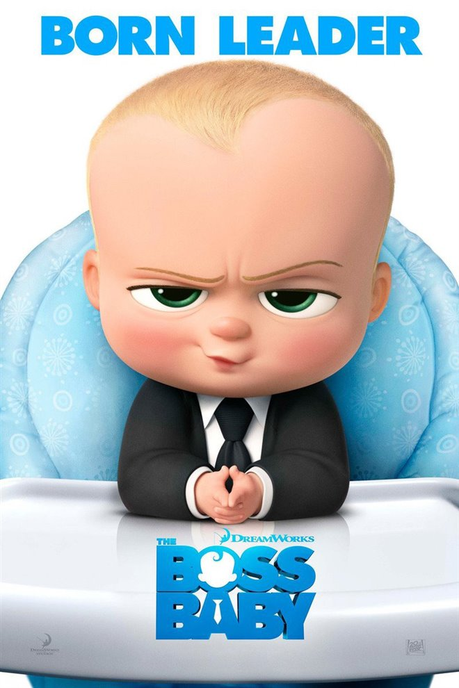 The Boss Baby Large Poster