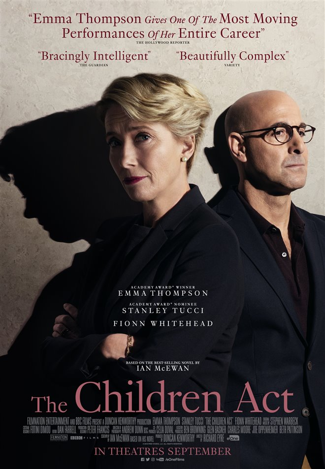 The Children Act Large Poster