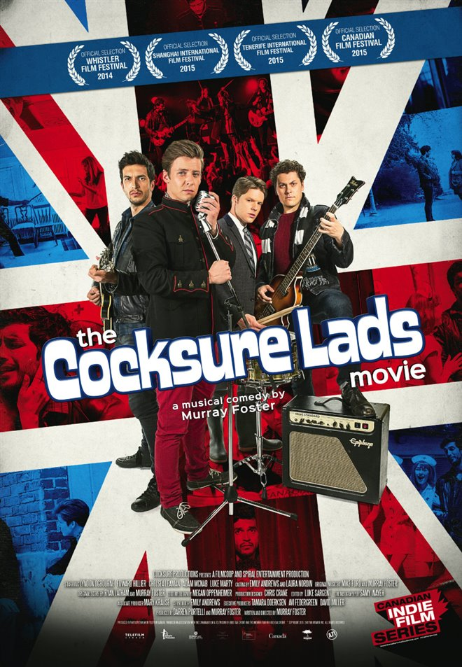 The Cocksure Lads Movie Large Poster