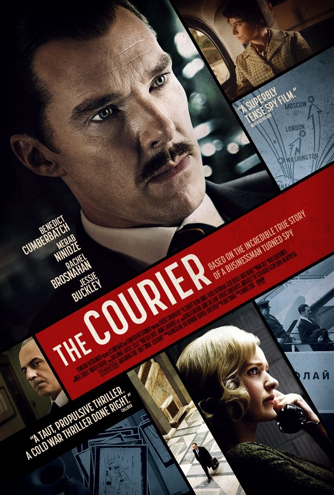 The Courier Large Poster