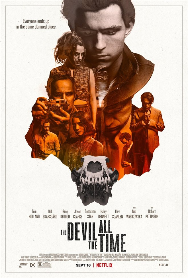 The Devil All the Time (Netflix) Large Poster