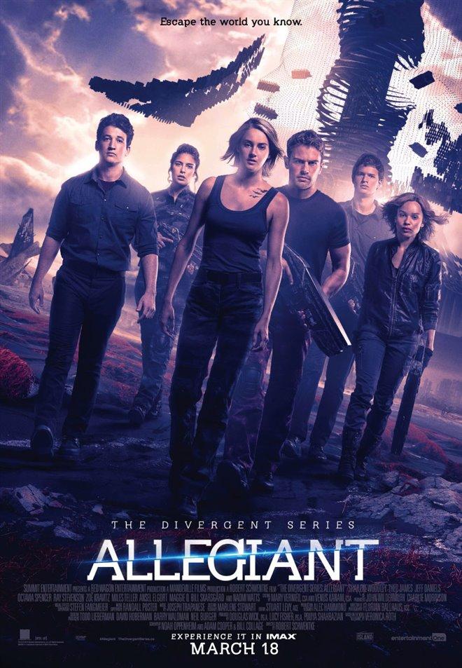 The Divergent Series: Allegiant Large Poster