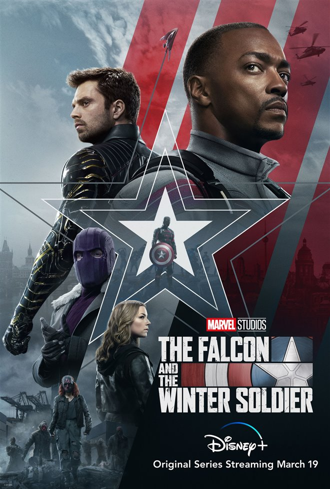 The Falcon and The Winter Soldier (Disney+) Large Poster