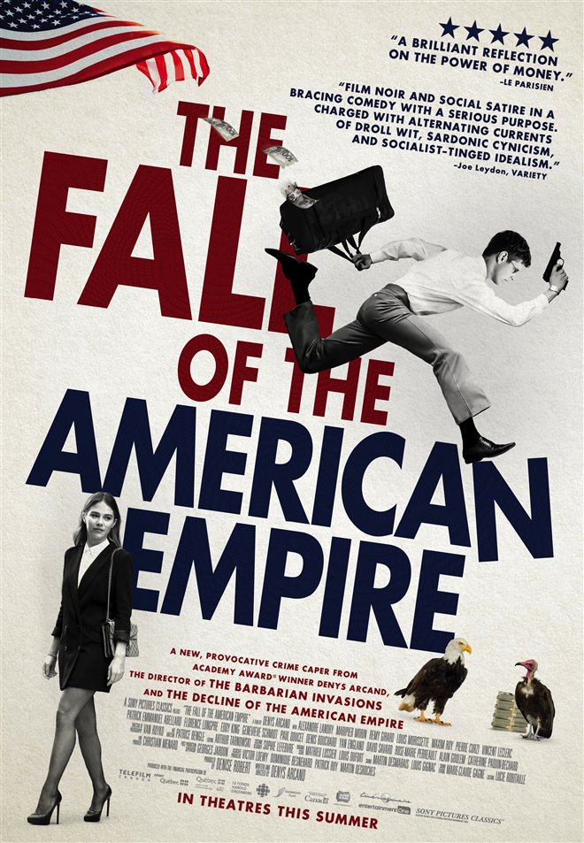 The Fall of the American Empire Large Poster