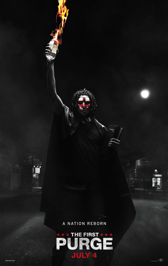 The First Purge Large Poster