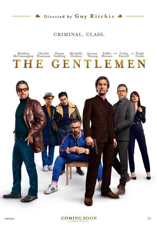 The Gentlemen Large Poster