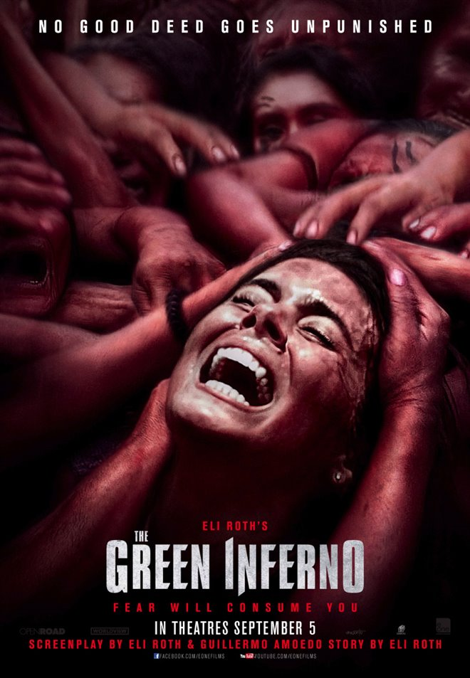 The Green Inferno Large Poster