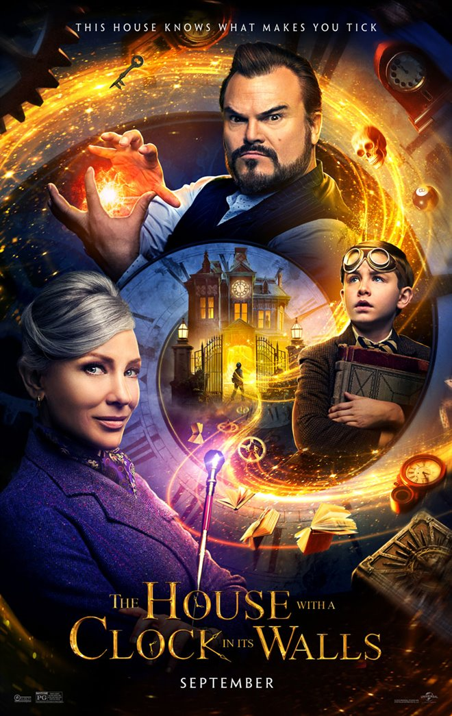 The House with a Clock in its Walls Large Poster