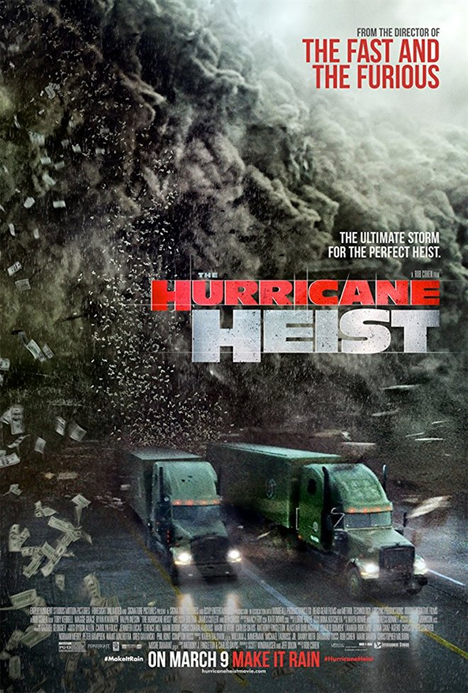 The Hurricane Heist Large Poster