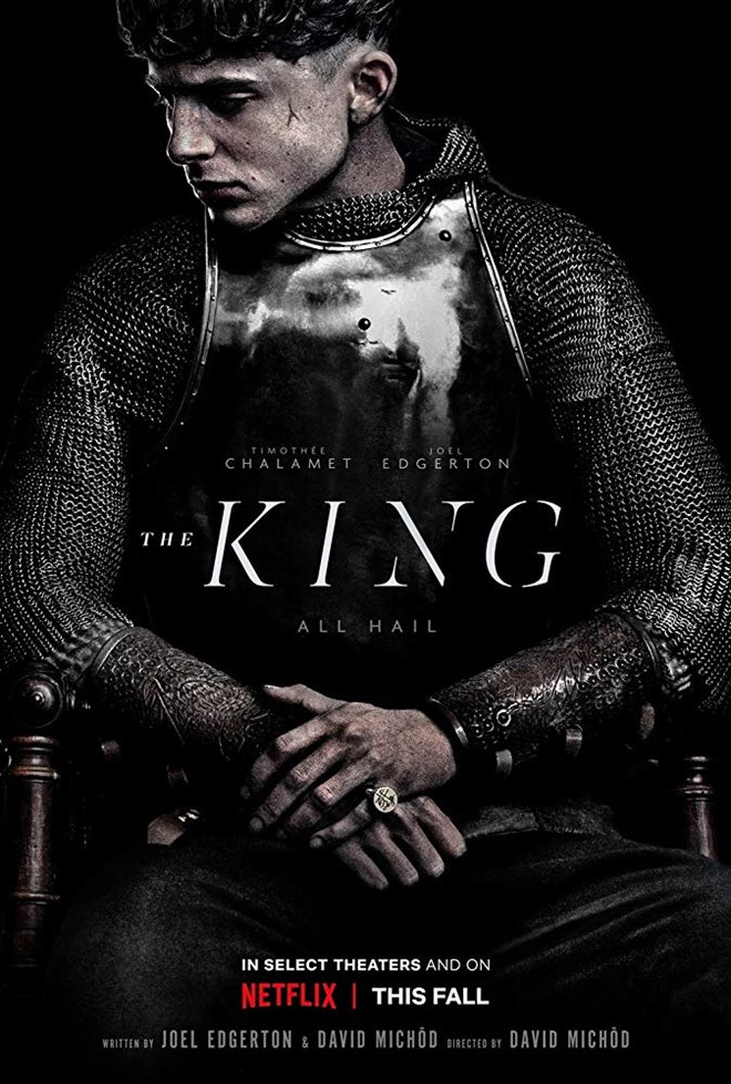 The King (v.o.a.) Large Poster